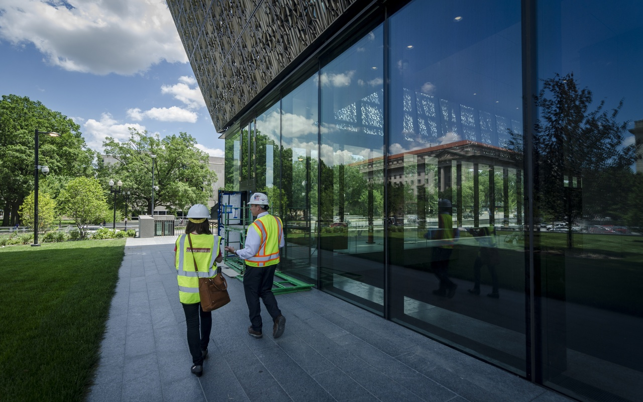 Clark Construction Senior VP at new Smithsonian African American Museum