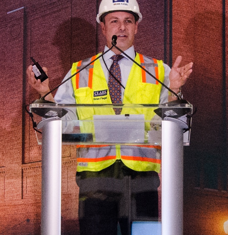 Clark Construction's Brian Flegel at DC Museum of the Bible