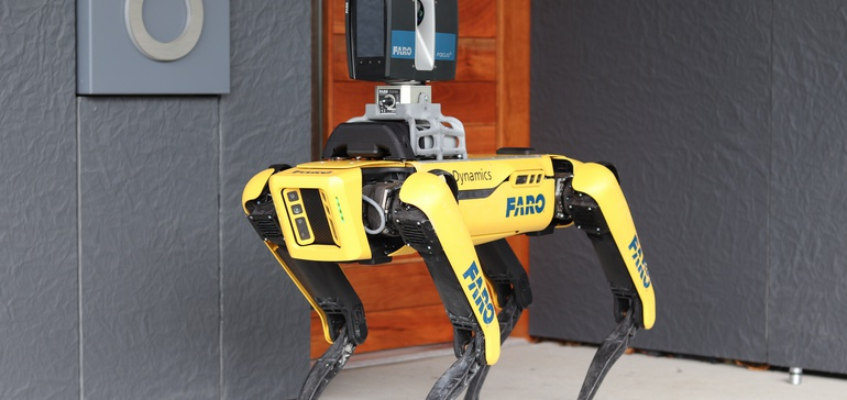 Boston Dynamics showcases robot dog's construction capabilities