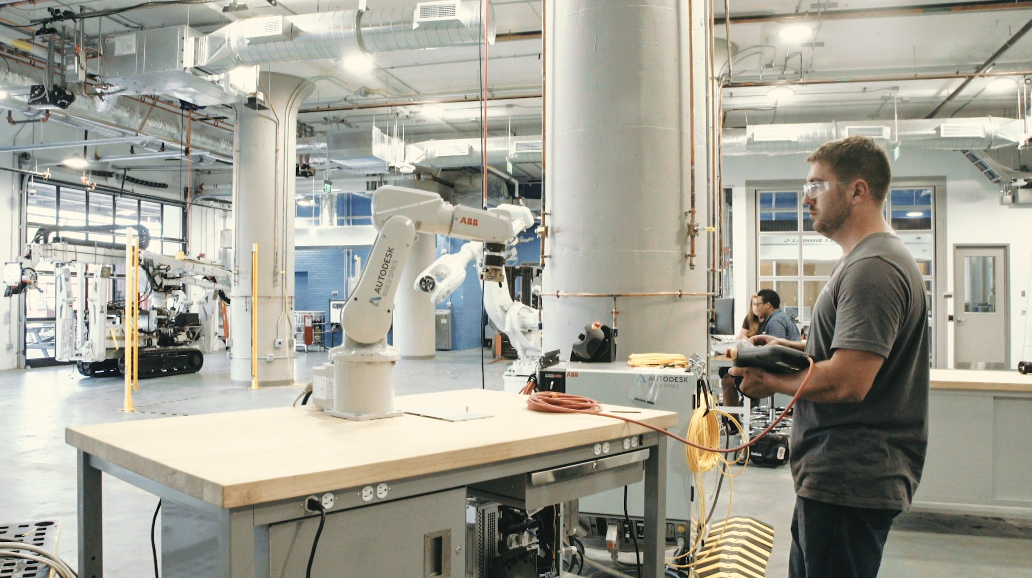 Autodesk opens BUILD, a high-tech workshop for the construction industry