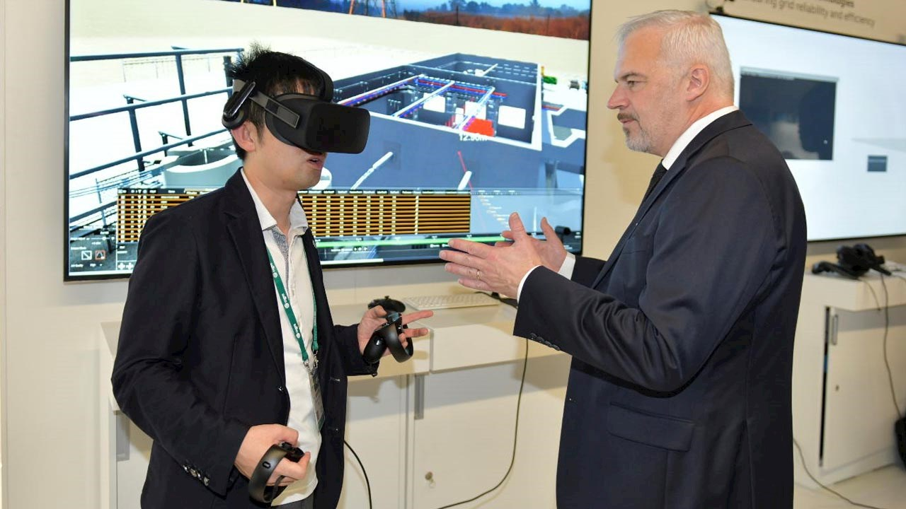 ABB virtual reality tool for construction planning