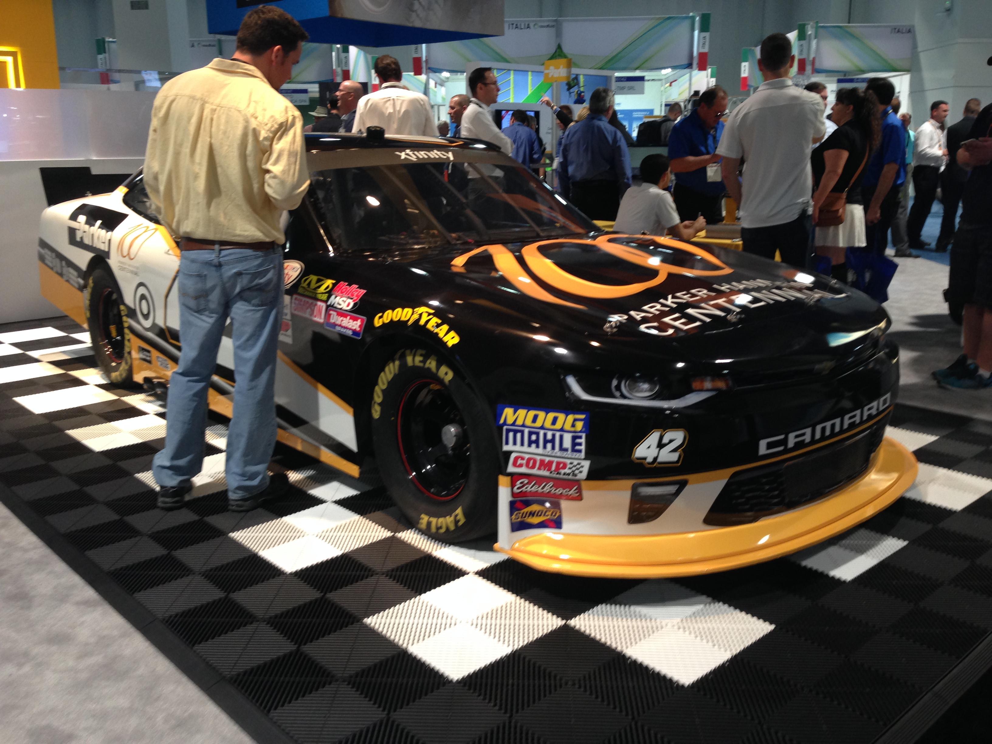ConExpo race car