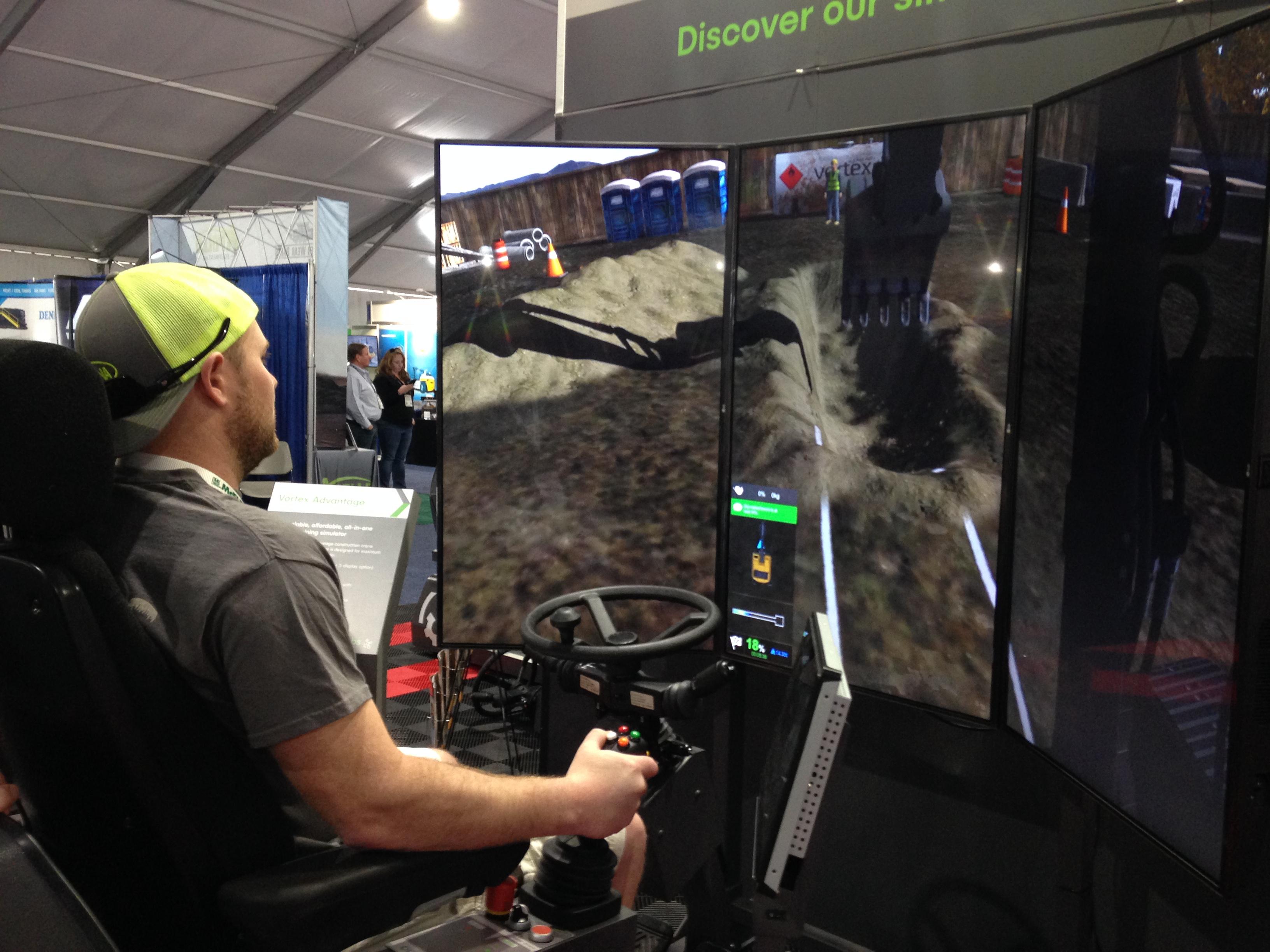 ConExpo simulator
