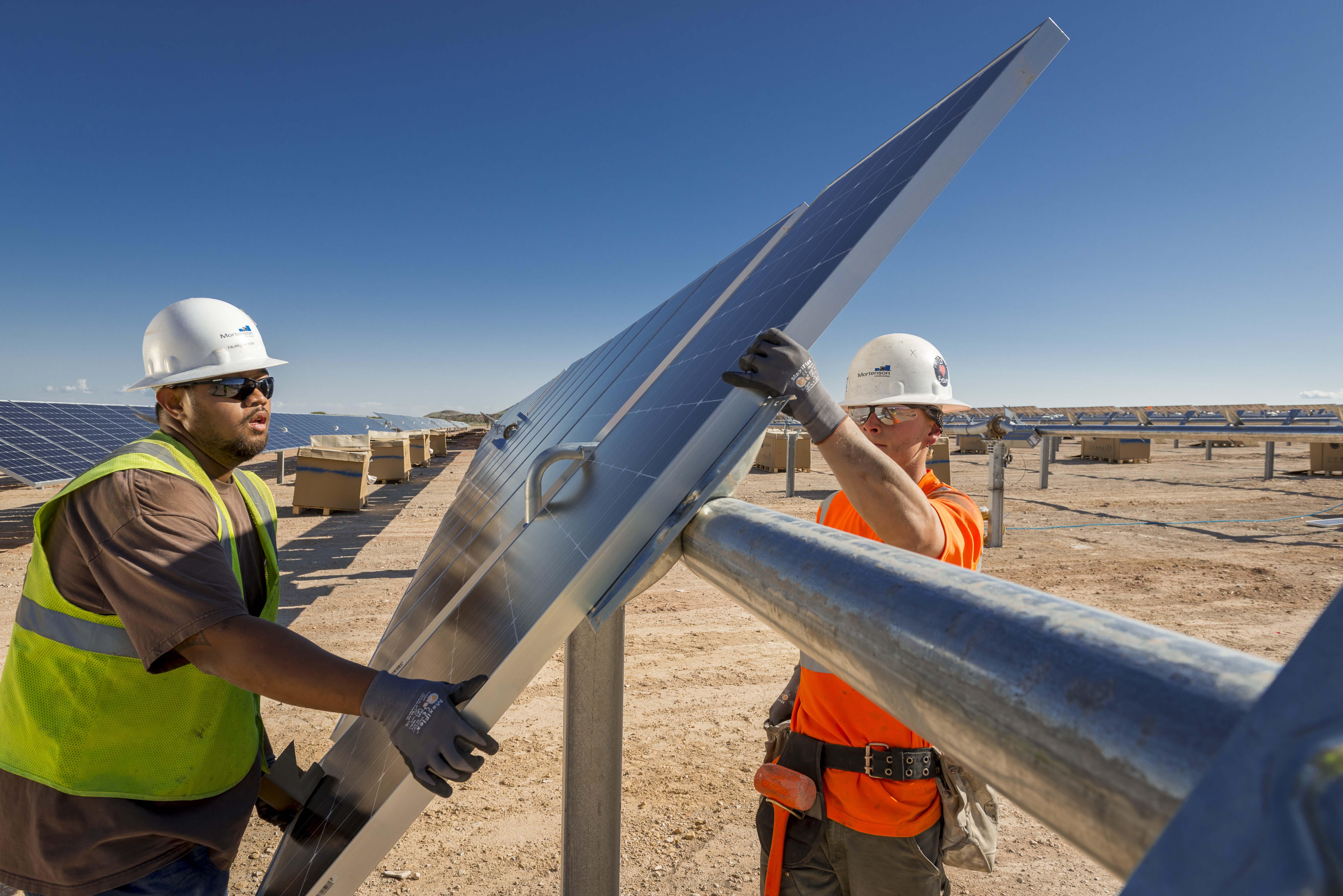 Mortenson solar project