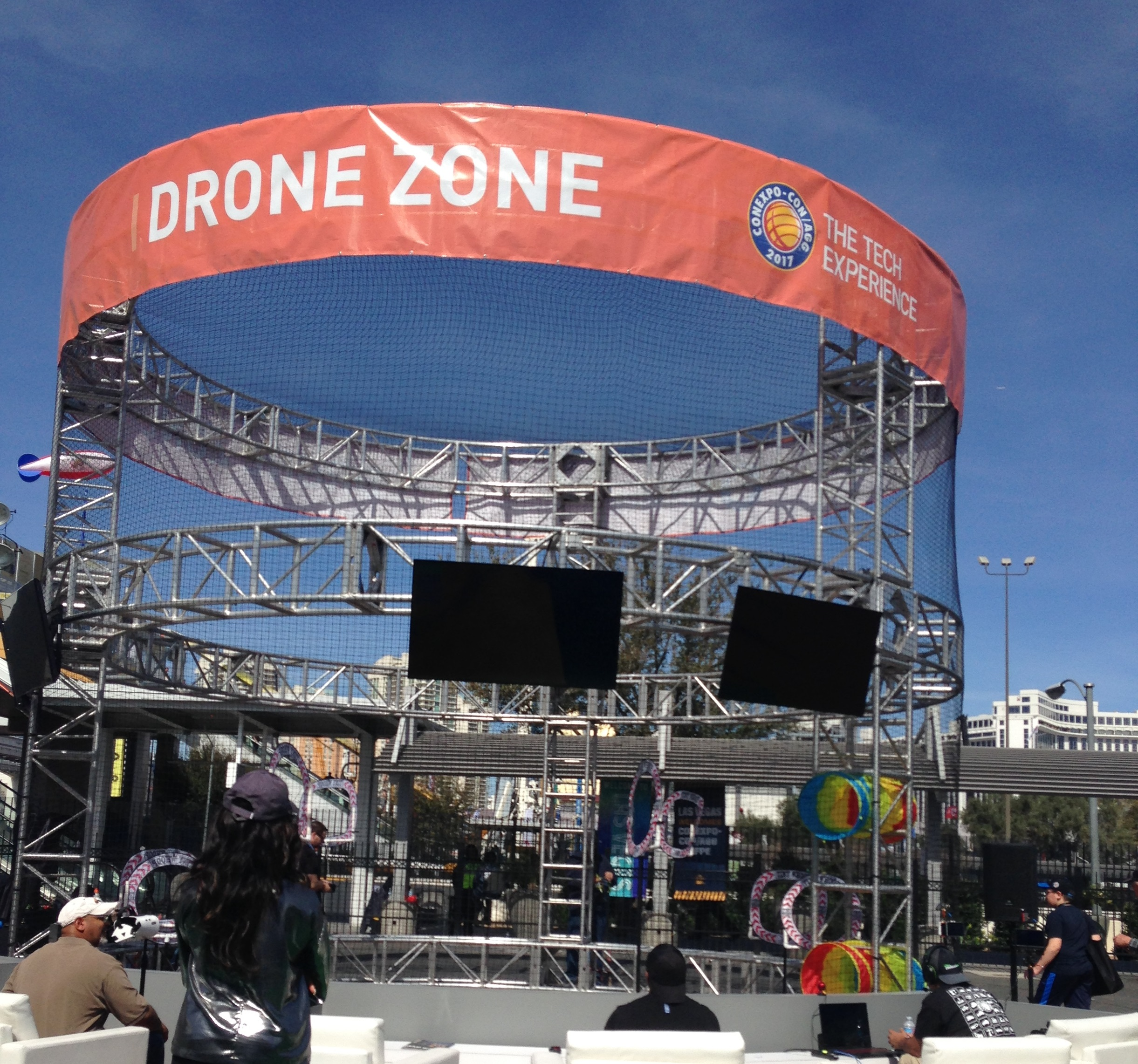 Drone zone at ConExpo photo