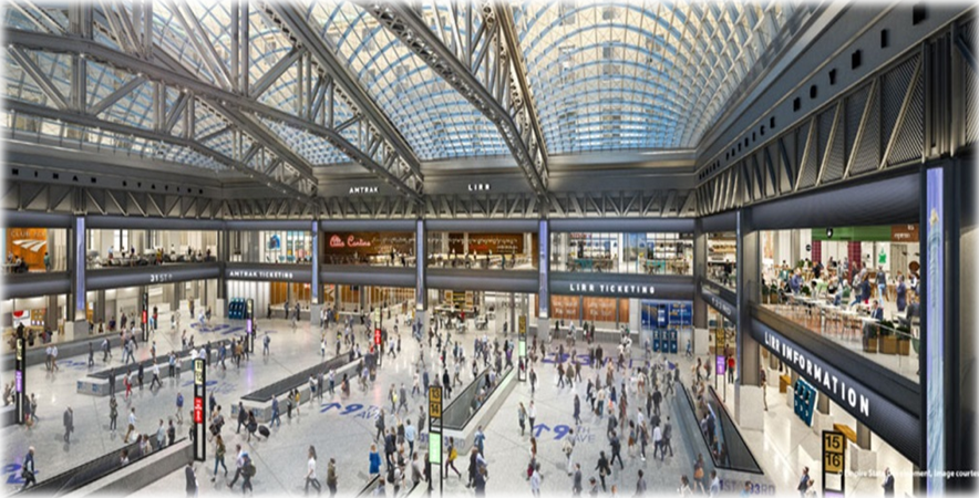Farley Post Office redevelopment rendering